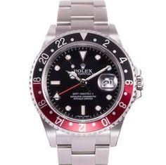 Rolex Stainless Steel GMT Wristwatch Ref 16710