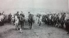 British POWs guarded by Boer soldiers. Africa Continent, The Siege, British Army, Continents, Warfare, Two By Two, Hero, History, Soldiers