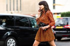 Street Style : Londons Street Style Is Officially CallingCheck Out the Coolest Snaps from LFW | Teen Vogue