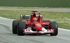 14 April 2002 Michael Schumacher won the San Marino Grand Prix with Ferrari.