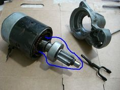 Convert Car Starter Motor for Go Kart Use