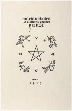 Hans Wildermann. Goethe's Faust. Gustav Bosse Verlag Regensburg, 1919.