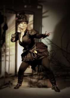 Steampunk Mistress theme, photo and artwork. | The Drawing Club