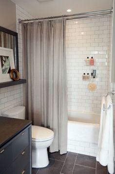 Cum sa fii mai fericit cu o baie mica- Inspiratie in amenajarea casei…