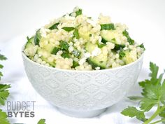 Lemony Cucumber Couscous Salad - Budget Bytes