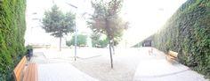 Espai dedicat a la periodista i realitzadora de televisió Mercè Vilaret Llop, (Barcelona 1943, Sant Cugat del Vallès 1993). Una de les primeres realitzadores de televisió a Catalunya, desenvolupant la seva vida professional a TVE primer als estudis de Miramar i posteriorment als de Sant Cugat. Premi Ciutat de Barcelona, en l'apartat de televisió, l'any 1978.