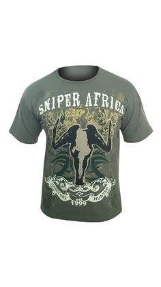 Sniper Africa T-Shirt Design
