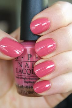 OPI My Address is Hollywood - click through for more swatches! :)