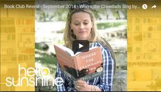 """An Interview with Delia Owens, Author of """"Where the Crawdads Sing"""" Book Club Books, Good Books, Best Selling Novels, Kate Dicamillo, The Valiant, Fiction Writing, Nonfiction Books, Love Story, Singing"""