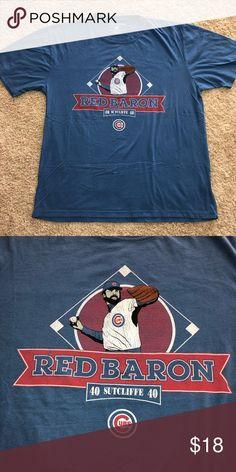 08bac2fdf3e Chicago Cubs Rick Sutcliffe Wright   Ditson Shirt For sale is a Chicago  Cubs Rick Sutcliffe