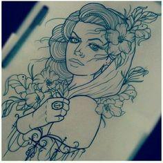 Тату для девушек - фото и эскизы женских татуировок