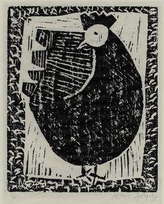 Hen by Milton Clark Avery,1954.