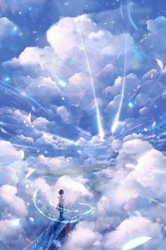 The art of animation, 防 人 random anime scenery. Anime Plus, Anime W, Anime Body, Anime Pokemon, Anime Galaxy, Anime Scenery, Animes Wallpapers, Phone Wallpapers, Fantasy Landscape