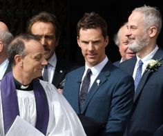 Benedict at The Richard III Burial Service in Leicester 26 / 3 / 15