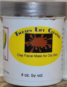 """""""TLC"""", Clay Facial Mask for oily skin - Skin By Nature, Inc. Nancy Pon ID code 90731 for 10% discount or contact me for more info."""