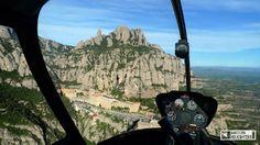 Barcelona Helicòpters - Helipistas S.L. - Vol turístic per Montserrat - Vuelo turístico por Montserrat - Montserrat Helicopter Tour