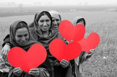 Happy Valentine's Day from the amazing artisan women of #Popinjay!
