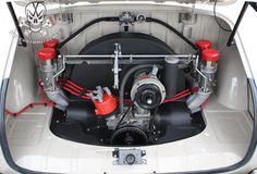 Embedded Volkswagen Karmann Ghia, Vw Engine, Motor Engine, Vw Racing, Vw Cars, Vw Beetles, Classic Cars, Engineering, Bugs