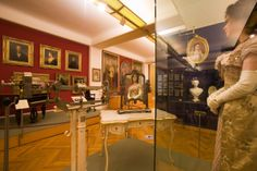 """""""The historical Sissi"""" room at Hofburg Palace in Vienna"""