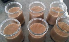 Recette de Creme dessert chocolat noisette au lait de soja - i-Cook'in