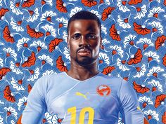 kehinde wiley | kehinde wiley s portraits of african american men collate modern ...