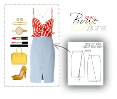 """""""COLOR BLOCK2"""" by sew-bouje on Polyvore featuring Akris Punto, Faithfull, Gucci, Givenchy, Magdalena Frackowiak, Christian Louboutin and Michael Kors"""