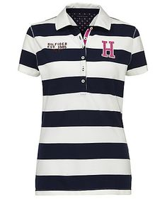 Polo Shirt von Tommy Hilfiger  #stripes #sports #summer #fashion