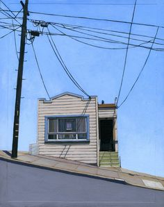 Bernal Heights two archival print 14/100 by leahgiberson on Etsy, $35.00