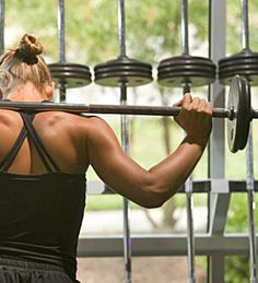 Weight training for strength and toning