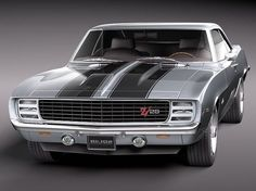 69 Chevy Camaro Z28 - http://www.only4realmen.com/rides/69-chevy-camaro-z28/