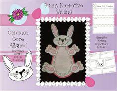 Miss. Karen's Room: Bunny Narrative Writing Bundled and Complete