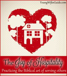 Hospitality from a Biblical perspective is to recognize that God is more interested in caring relationships than the mold behind the shower curtain…It need not matter if we live in a single-room apartment or a split-level ranch, the only real requirement is allowing God to use our lives and our possessions…Our homes and our lives are indeed the most powerful combination of ministry to our world.