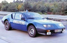 1976 Renault Alpine A310 police car