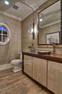 We love this simple #bathroom and the elegant design. www.budgetbathandkitchen.com