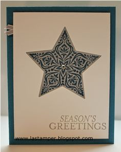 LA Stamper, Stampin' Up!: Simple Card Sunday - 3.  Visit my blog for more card ideas using this layout