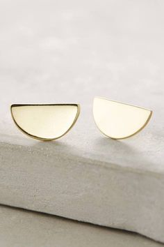 Semicircle Earrings by ACB by Annie Costello Brown