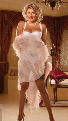 Feather lingerie