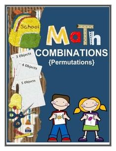 Math Combinations - Common Core Standards by Innovative Teacher