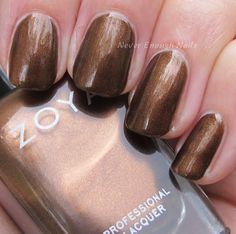 Zoya Flair Collection for Fall 2015 Swatches & Review: Cinnamon