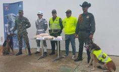 Policia Nacional y Grupo Aereo del amazonas incautan cocaina y bazuco