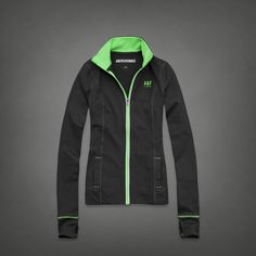 Womens A&F Active Full-zip | Abercrombie.com