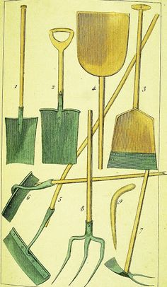 .  John Evelyn & Depictions of Early Gardening Tools   During the early 1990s, John E. Ingram, then the research archivist & curator of spec...