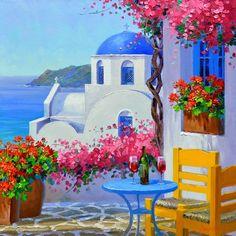 Vistas que maravillan de buen relax y sentir en viajes de ensueño real de sabor mediterráneo. CPM. http://libreandoconcristinapardo.blogspot.com.es/