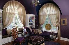 round window treatment ideas | Window Treatments