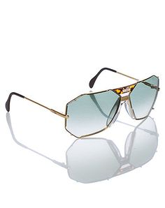CAZAL MENS CAZAL SUNGLASSES- Gold