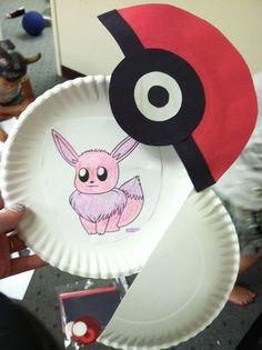 Pokemon Pokeball Kids Craft