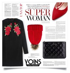 """""""YOINS #114"""" by virgamaleva ❤ liked on Polyvore featuring Comme des Garçons, yoins, yoinscollection and loveyoins"""