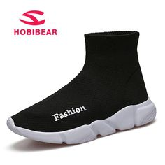 HOBIBEAR Children Shoes For Boys Casual Shoes Girls Sneaker Sock Shoes Kids Sneakers Comfortable Fly Knit Mesh Spring Autumn. Yesterday's price: US $26.41 (23.38 EUR). Today's price: US $16.64 (14.80 EUR). Discount: 37%.