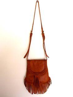 Leather fringe purse NeW bag lusSt fOr SpRiNg