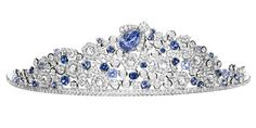 """""""B is for Bonaparte and now it is the bee which is the adopted emblem of Chaumet because of the patronage of Napoleon's first and second wives the Empress Joséphine and the Empress Marie Louise de Habsburg-Lorraine."""" This tiara is part of the Bee My Love Collection by Chaumet. The bee in it can be detached and worn as a brooch."""
